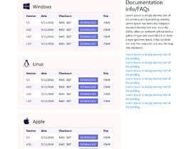 Nro 12 kilpailuun Design a File Download page (Template) that matches our theme käyttäjältä ksumon4711