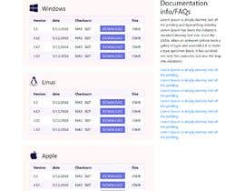 ksumon4711 tarafından Design a File Download page (Template) that matches our theme için no 12