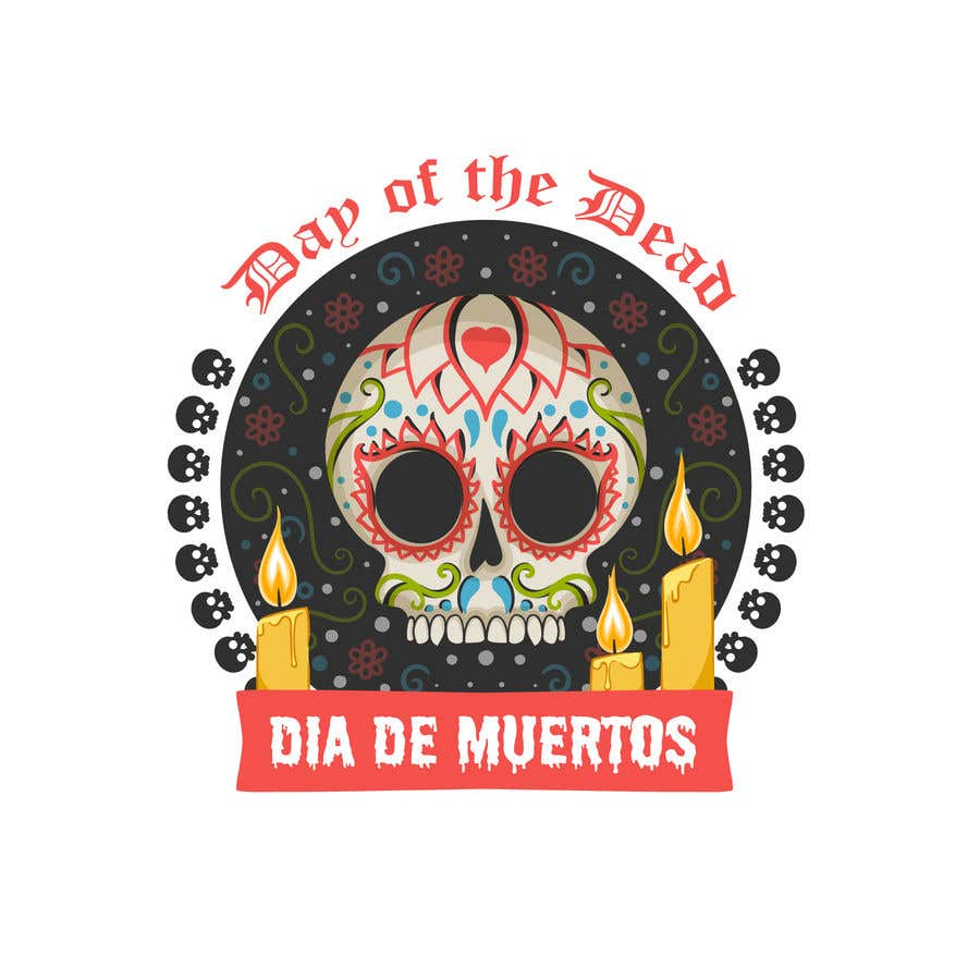 Proposition n°46 du concours Day of the Dead Logo Contest