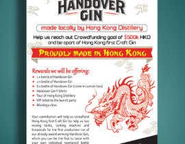 #46 for Design a crowdfunding pamphlet for Handover Gin by Mukul703
