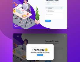 "#39 для Build a creative, single page ""Domain for sale"" HTML Template от nizagen"