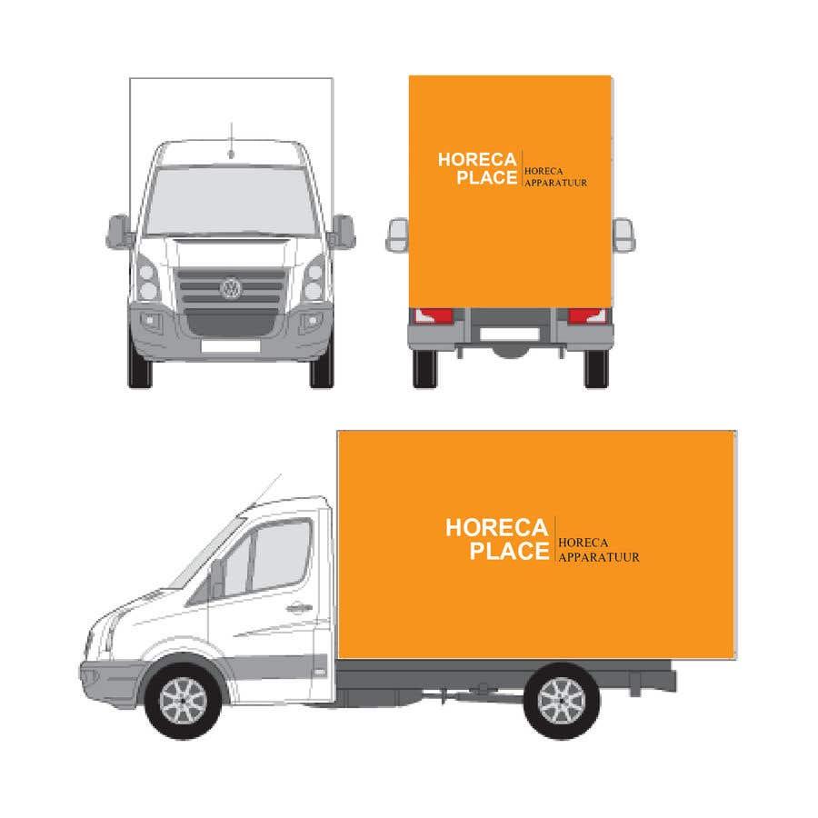 Penyertaan Peraduan #45 untuk I am looking for a nice design for our company van