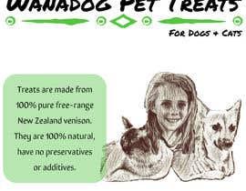 Nro 51 kilpailuun Logo for Wanadog Pet Treats käyttäjältä ladyailiken