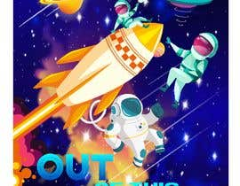 #13 para Space Poster - Cartoon Design por khansayed040