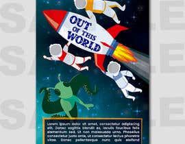 #18 para Space Poster - Cartoon Design por jmrguaigua86