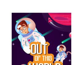 #32 para Space Poster - Cartoon Design por hojjatsa