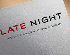 """#5 for Logo for """"Late Night Affiliate Talks with Kim & Oscar"""" Podcast by mustafizur5654"""