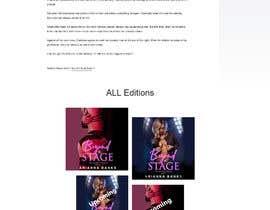 Nro 15 kilpailuun Design an Erotica Book Website/Wordpress Mockup käyttäjältä codervai