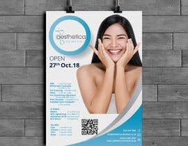 #145 untuk Skin Clinic Open Day Poster and Banner oleh wahwaheng