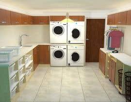Nro 23 kilpailuun Design a laundry room käyttäjältä Ortimi2020