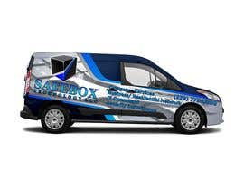 #34 for Graphic Design for Commercial Vehicle wrap by artdjuna