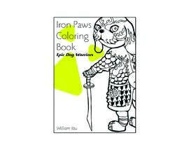 #9 for Need a cool font and back cover graphic for coloring book by niluferkaranfil