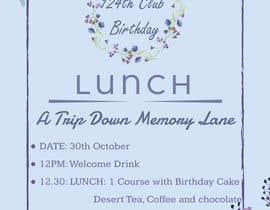 #7 for Design a Club Birthday flyer by rmasudur5988