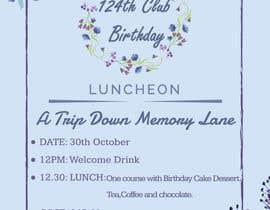 #47 for Design a Club Birthday flyer by rmasudur5988