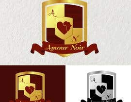 nº 19 pour I need a crest logo designed.  The company name is Amour Noir, I will provide you with 3 of the logos that we use. You can use any  combination or all 3.  For inspiration, I really like the the Porsche logo par DonnaMoawad