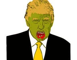 #10 cho Caricature style vector of President Trump looking like a zombie bởi stebo192