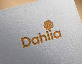 #68 for Design logo for DAHLIA by kamrunn115