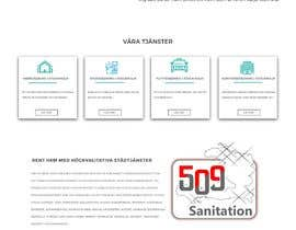 ripafreelancer tarafından Design a One Page Website for a cleaning Company Service için no 37