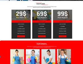 engralamingwd tarafından Design a One Page Website for a cleaning Company Service için no 44