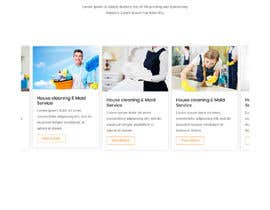 ksumon4711 tarafından Design a One Page Website for a cleaning Company Service için no 22