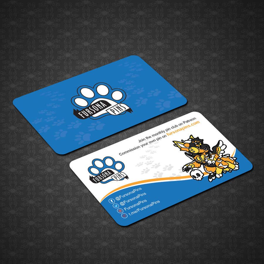 Bài tham dự cuộc thi #167 cho Design a business card for enamel pins