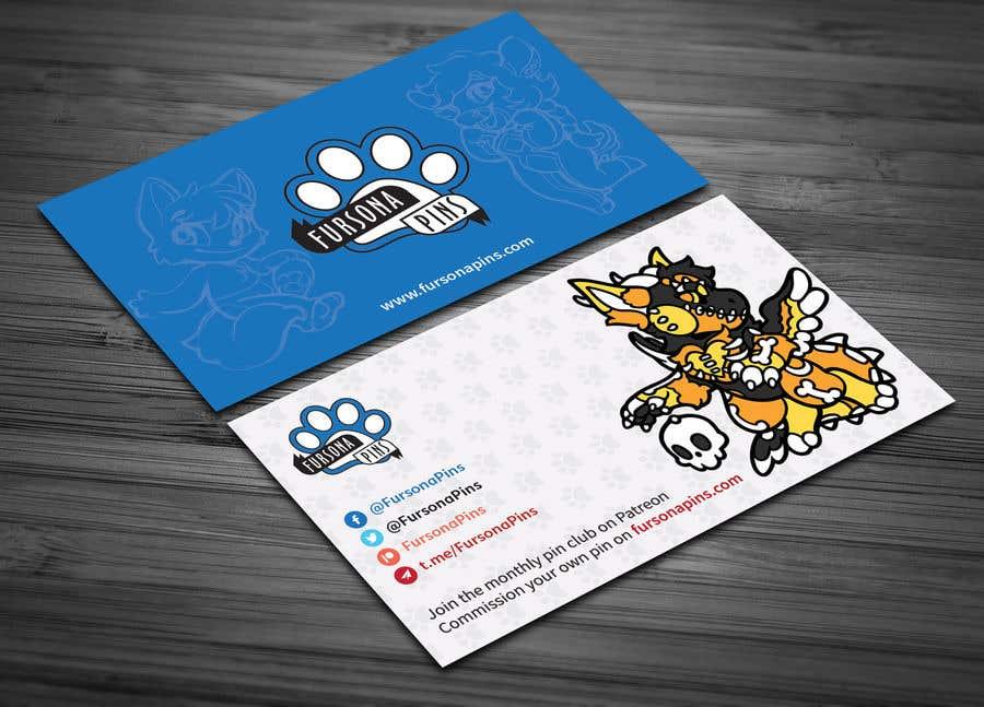 Bài tham dự cuộc thi #251 cho Design a business card for enamel pins