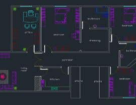 #1 per make interior furniture layout for residential villa by autocad da webgraphic1984