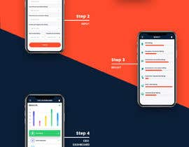 nº 13 pour Gameday Decisions Web and Mobile SaaS Application Mockup par zaxsol