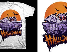 #35 for Design a Halloween t-shirt (for tankers) by theodorusdick