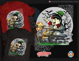 #36 for Design a Halloween t-shirt (for tankers) by GribertJvargas