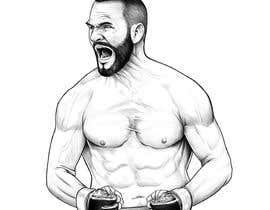 #18 untuk Illustrate 2 MMA Fighter oleh Rotzilla