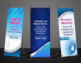 #41 for Design Banner: Three 33x78 Retractable Roll Up Banner Stands and One 33x34 Table Top Banner by rahatrc