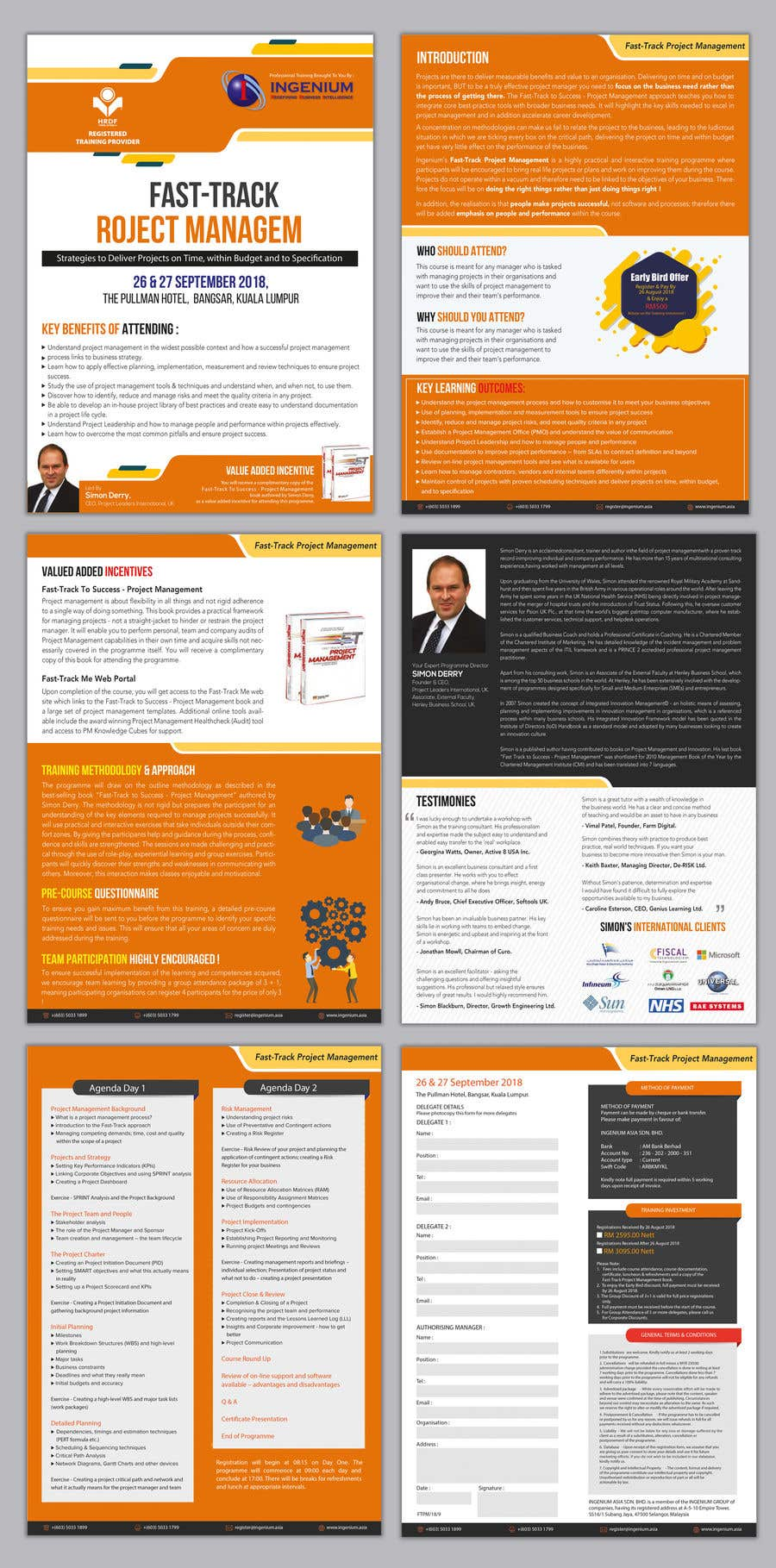 Entry #29 by GraphicsView for PDF Brochure Design - For