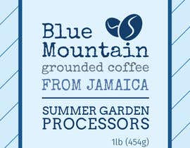 #3 for Jamaican Blue Mountain Coffee Product Label by Mephid