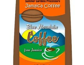 nº 5 pour Jamaican Blue Mountain Coffee Product Label par letindorko2