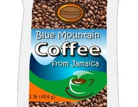 nº 8 pour Jamaican Blue Mountain Coffee Product Label par letindorko2