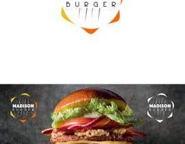 #93 para Logo para empresa de hamburguesas de EstrategiaDesign