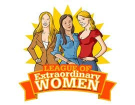 Adolfux tarafından Logo Design for League of Extraordinary Women için no 36