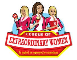 #61 para Logo Design for League of Extraordinary Women de taks0not