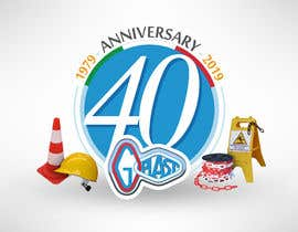 #18 para 40th Anniversary logo design for company. por gastnportal