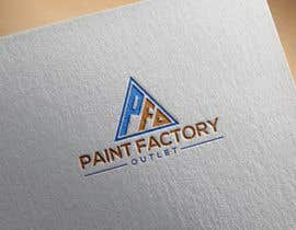 #223 for PFO(Paint Factory Outlet) Logo by kazisydulislambd