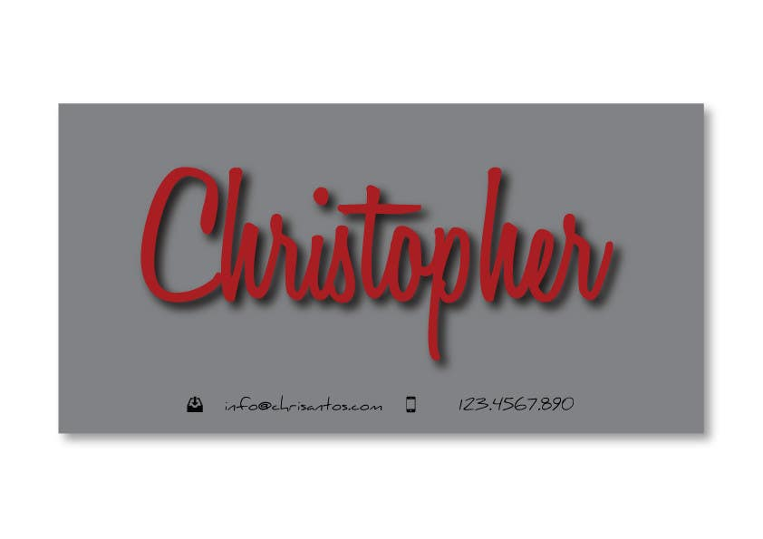 Конкурсная заявка №73 для Logo Design for Chris/Chris Antos/Christopher