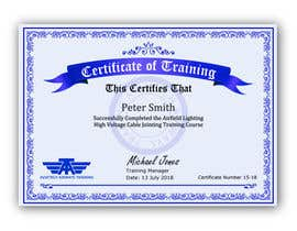 #53 for Please make this certificate more professional and editable by shila34171
