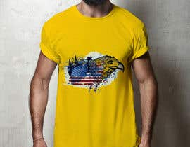 #22 , Create an illustration of an eagle for a t-shirt 来自 rokynil63