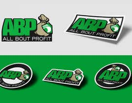 "#160 for Design ""ABP - ALL BOUT PROFIT"" logo for sticker by Attebasile"