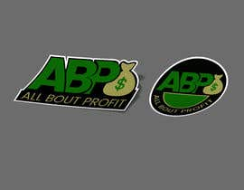 "#833 for Design ""ABP - ALL BOUT PROFIT"" logo for sticker by dipangkarroy1996"