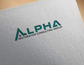 #91 untuk Compmay name  ALPHA Restoration Consulting Group  Need complete set of logos ready gor web, print, or clothing. This will also end up on vehicles also.   Tactial is style to show our covert nature. oleh DesignDesk143