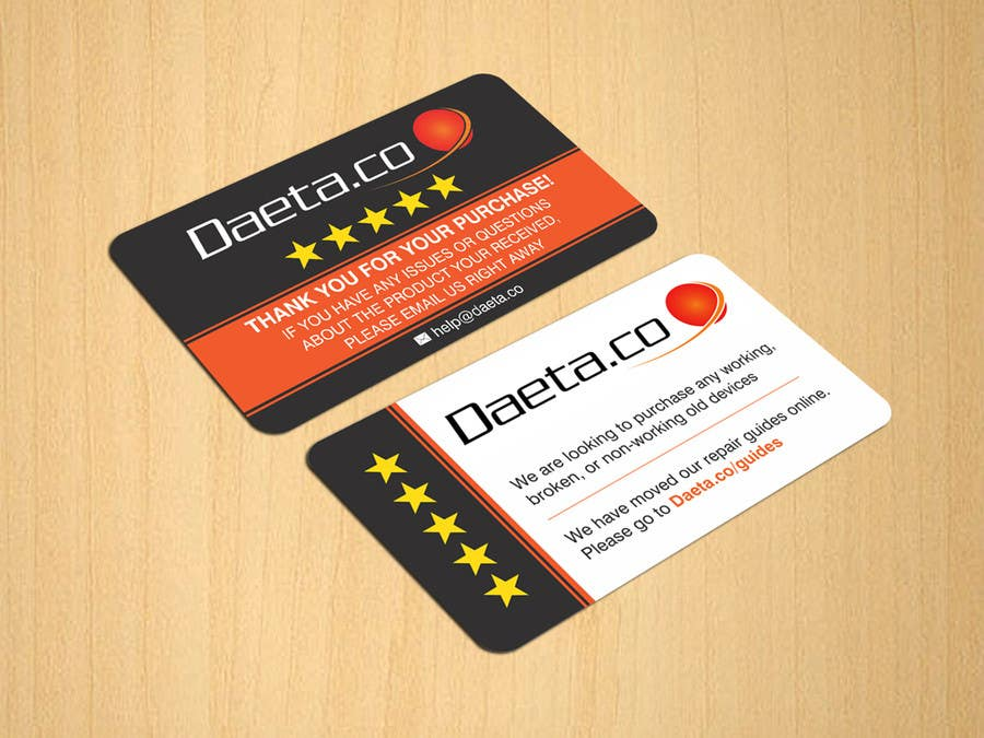 Entry #15 by dinesh0805 for Design Business Cards for 5-Star ...
