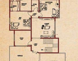 #5 untuk Simple Floor Plan oleh arcmalik07