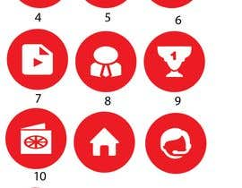 #3 for 10 circle small icon for android application by shahadot55